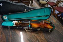 Lark cased violin