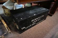 Vic Somerset light infantry wooden trunk