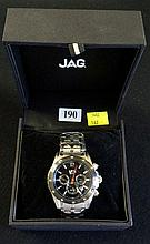 Jag Gents analogue 4 dial wristwatch in box in unused condition