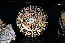 Royal Crown Derby Imari cabinet plate