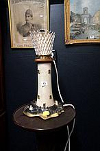 Vintage Lighthouse lamp