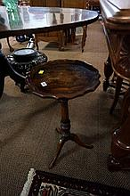 Mahogany wine table
