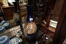 Doulton slater stoneware vase