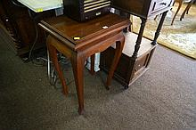 1920's blackwood side table