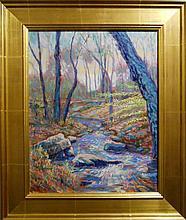 Bruce Wood:  Old Lyme, CT Landscape Oil Painting