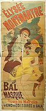 Jules Cheret: Elysee Montmarte Bal Masque Poster
