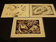 Howard John Besnia: Three Drawings