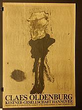 Claes Oldenburg:  1976 Exhibition Poster