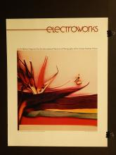 Electroworks/Xerox Exhibition Poster 1970's