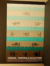 Roger Brown: 1976 SAIC Exhibition Poster
