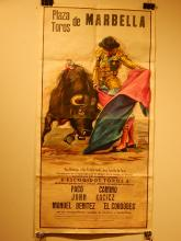 Bull Fight Poster, Spain, 1972