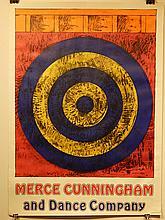 Jasper Johns: Merce Cunningham 1968 Poster
