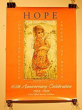 Edna Hibel: Project Hope Poster 1998