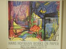 Hans Hoffman 1980 Exhibition Poster