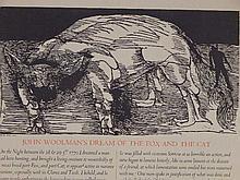 Leonard Baskin: John Woolman's Dream 1970 Woodcut