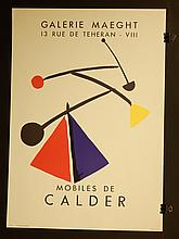 Alexander Calder Gallerie Maeght Exhibition Poster