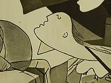 Picasso Poster, Museum of Modern Art 1969