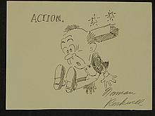 Norman Rockwell: Action, Drawing