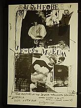 Robert Rauschenberg: Jewish Museum Poster 1963