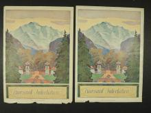 Kursaal Interlaken Posters, 2 Pages