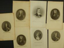 Solon Robinson  (Indiana) & Nobility, 10 Antique Prints