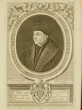 Robert White:Portrait of Thomas Cromwell, 1st Earl of Essex, 17th C. Engraving