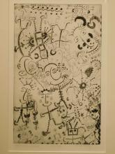 Ode To The Plants, c.1980 Drypoint Etching