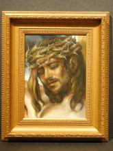 Christ With Crown Of Thorns, Oil c.1990