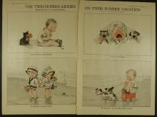 C.H. Twelvetrees: Kiddies On Their Summer Vacation, 2 pages, 1919