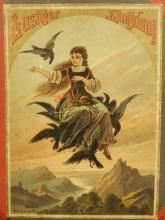 Book Cover: Lustiger Klingklang w/Chromolitho Illustration
