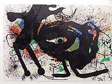 Joan Miro: Color Lithograph for Derriere Le Miroir