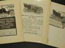 Ford Model F & 1906 Touring Car Ads (3)