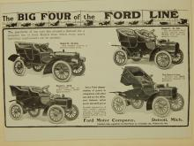 Ford Doctor's Car & Models B, C & F Automobile Ad