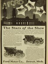 Ford Model B & C Automobile Ad