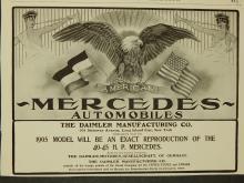 1904 American Mercedes Ad