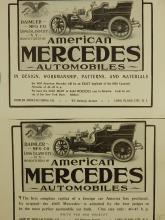 1905 American Mercedes Ads
