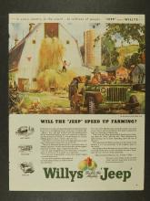 1945 Willys Jeep Ads
