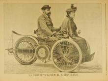 Leon Bollee Auto Ad - Rare 100