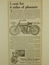 American Motor Co. 1910 Motorcycle Ad