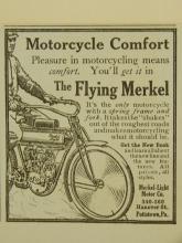 Flying Merkel Motorcycle Ad 1910