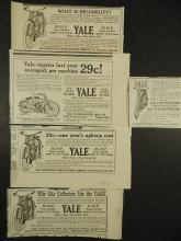 Yale  Motorcycle Ads (5) 1910-1911