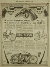 Iver Johnson  Motorcycle Ad
