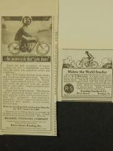 Reading Standard  Motorcycle Ad 1909