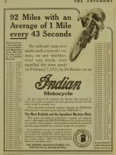 Indian 1911 Motorcycle Ad