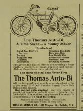 Thomas Auto-Bi 1907 Motorcycle Ad