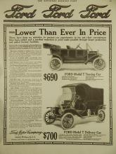 1911 Ford Model T Touring & Delivery Cars Ad