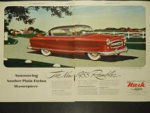 Nash Airflytes 1953 Double-Page Automobile Ad