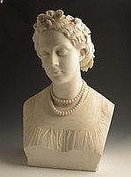 John Adams-Acton (1831-1910). A carved marble