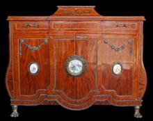 EGYPTIAN FRENCH STYLE CABINET