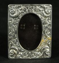 MEXICAN SILVER MINIATURE PHOTO FRAME